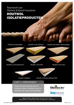 Productinformatie Obimex Houtwol isolatieproducten