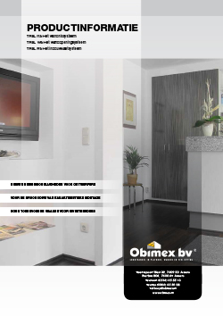 Obimex Productinformatie