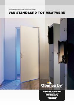 Obimex Van standaard tot maatwerk