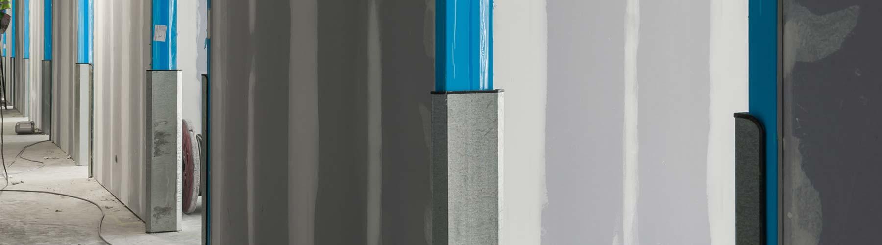 metal stud wanden